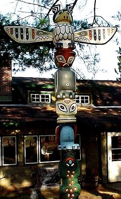 One of Northern Wisconsin's most photographed Totem Poles