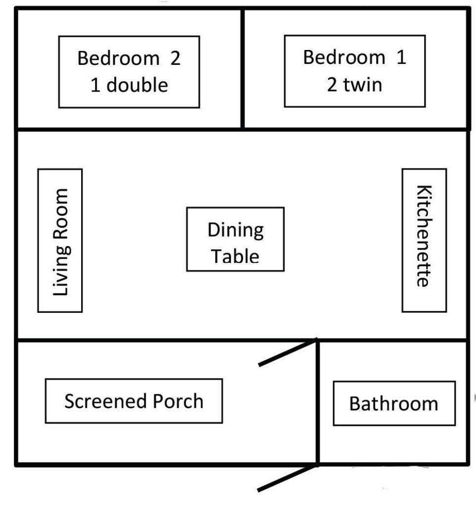 Cabin 7 Layout