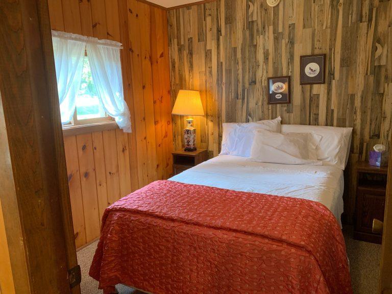 Cabin 8 bedroom 2