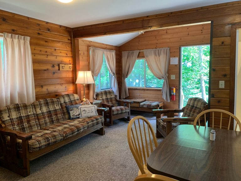 cabin 5 living room